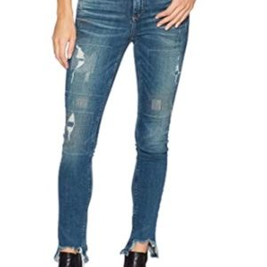 NWT Lucky Brand Women's Ava Skinny in South Lake J